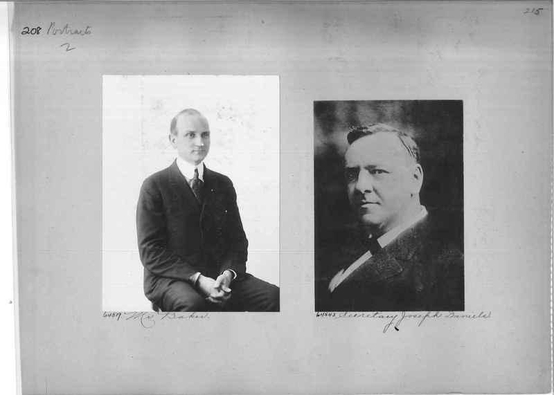 Mission Photograph Album - Portraits #2 page 0208