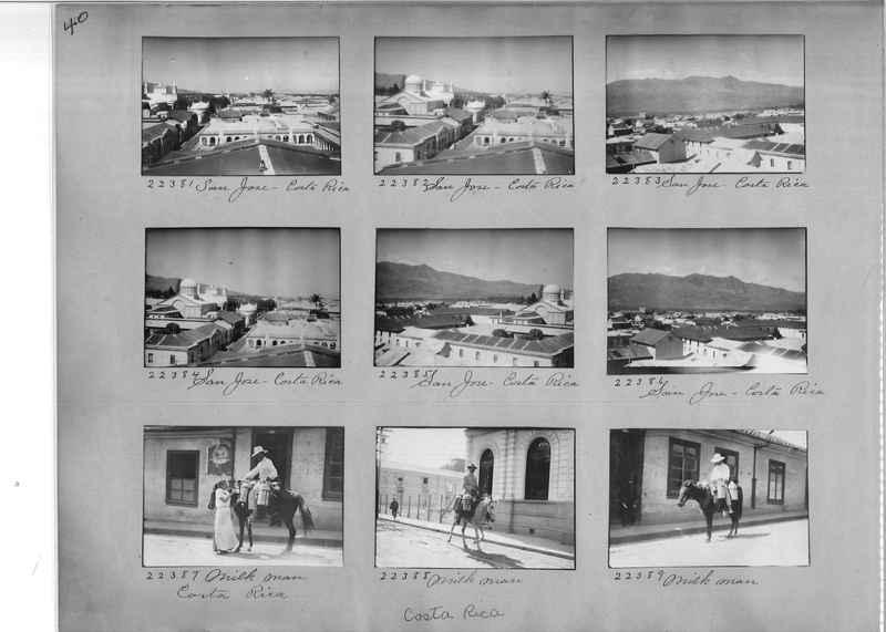 Mission Photograph Album - Panama #02 page 0040