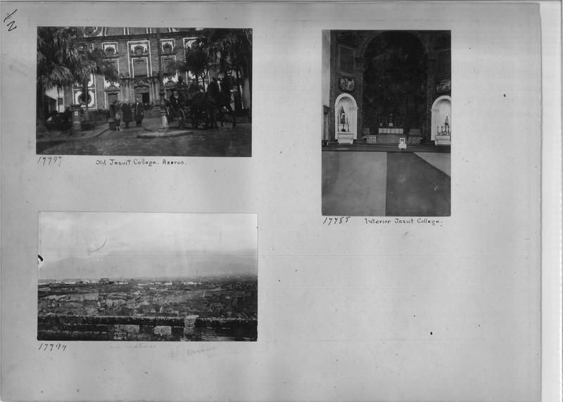 Mission Photograph Album - Europe #02 Page 0002