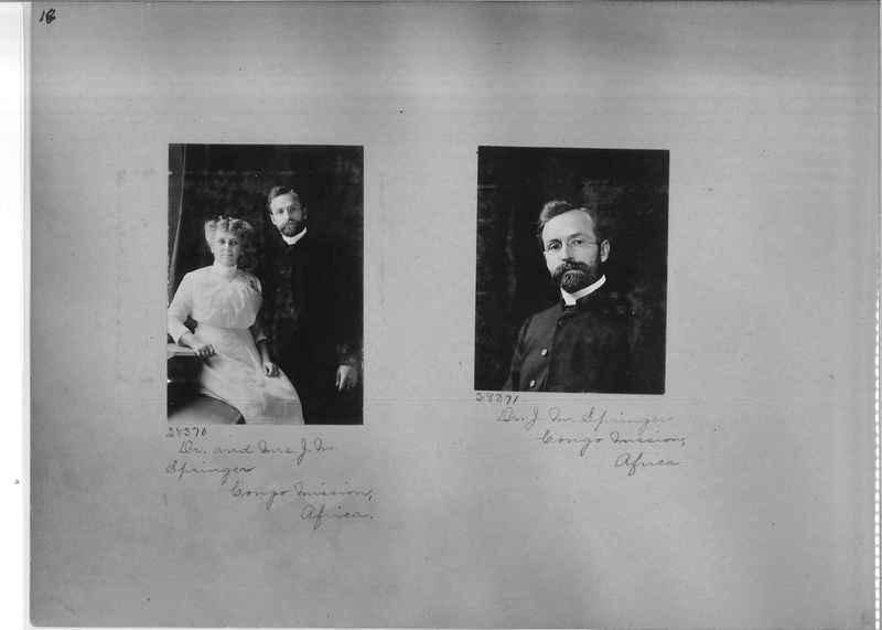 Mission Photograph Album - Portraits #1 page 0018