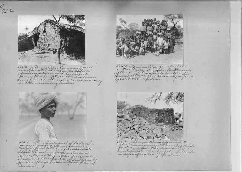 Mission Photograph Album - India #08 Page 0212
