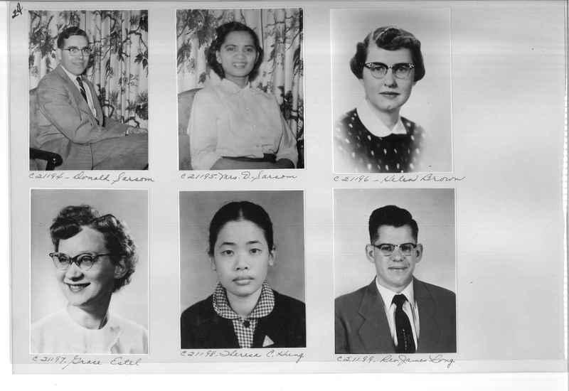Mission Photograph Album - Portraits #10 Page 0024