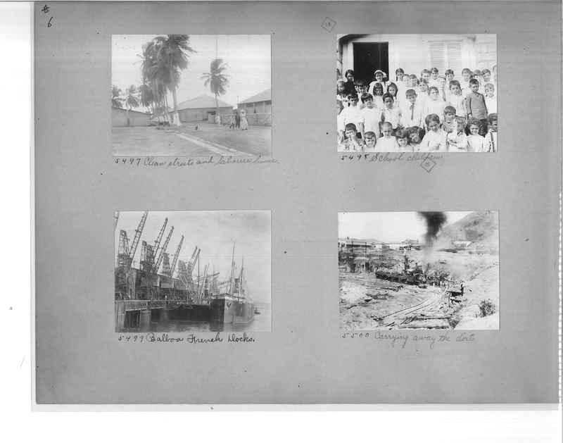 Mission Photograph Album - Panama #1 page  0006