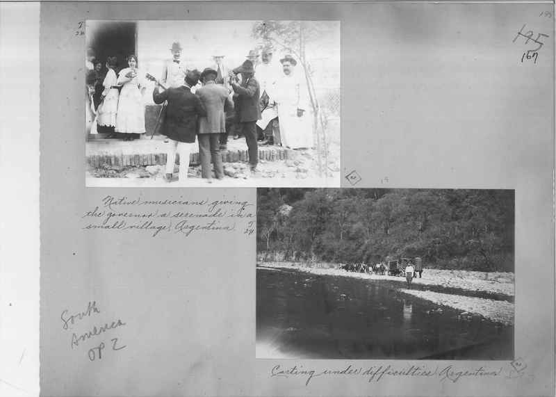 Mission Photograph Album - South America O.P. #2 page 0167