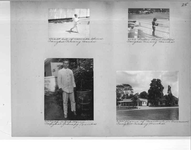 Mission Photograph Album - Malaysia #5 page 0025