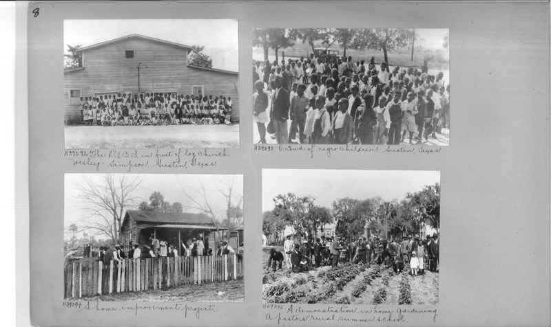 Mission Photograph Album - Negro #6 page 0008