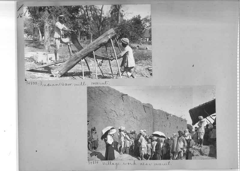 Mission Photograph Album - India #09 Page 0016