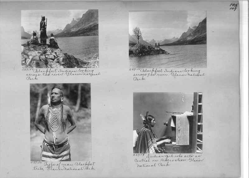 Mission Photograph Album - Indians #2 page_0107