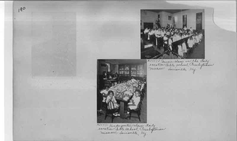 Mission Photograph Album - Negro #3 page 0190