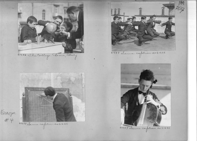 Mission Photograph Album - Europe #04 Page 0161