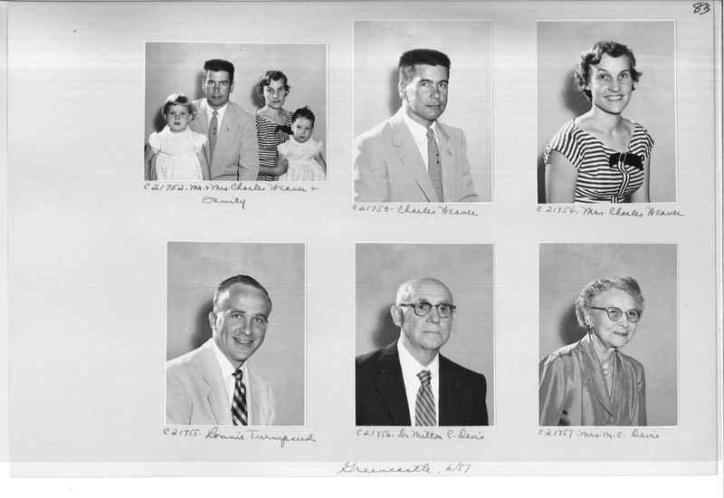 Mission Photograph Album - Portraits #10 Page 0083
