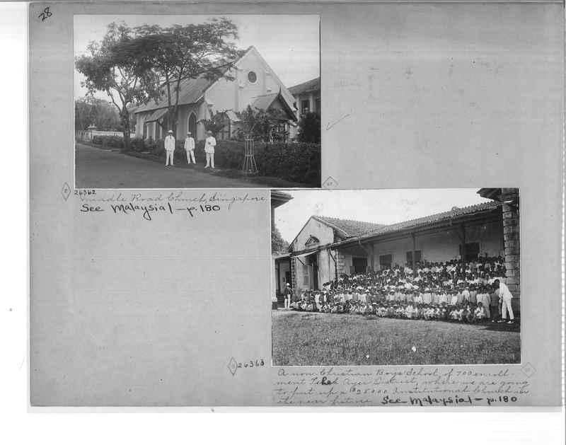 Mission Photograph Album - Malaysia O.P. #1 page 0028