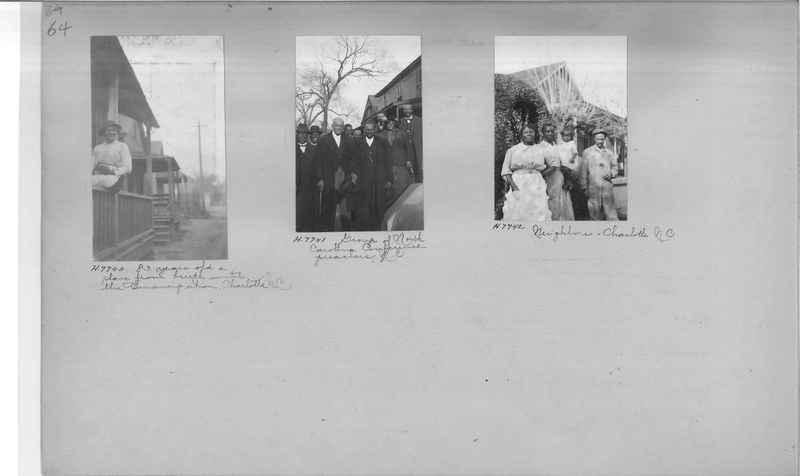 Mission Photograph Album - Negro #1 page 0064