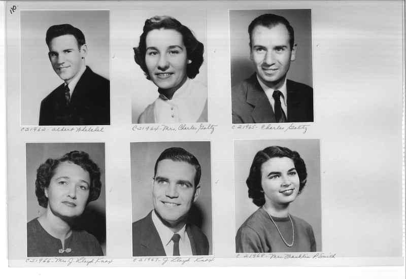 Mission Photograph Album - Portraits #10 Page 0110