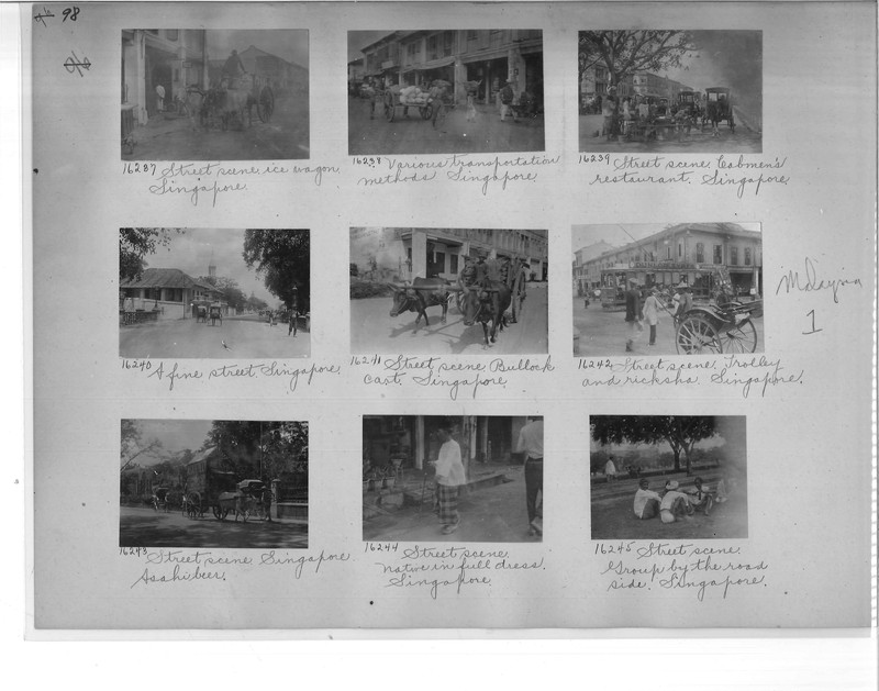 Mission Photograph Album - Malaysia #1 page 0098