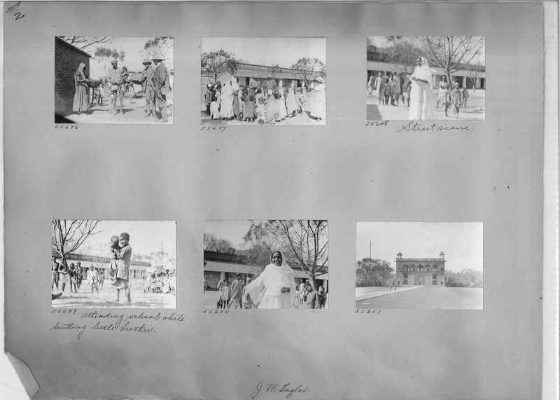 Mission Photograph Album - India #08 Page 0002