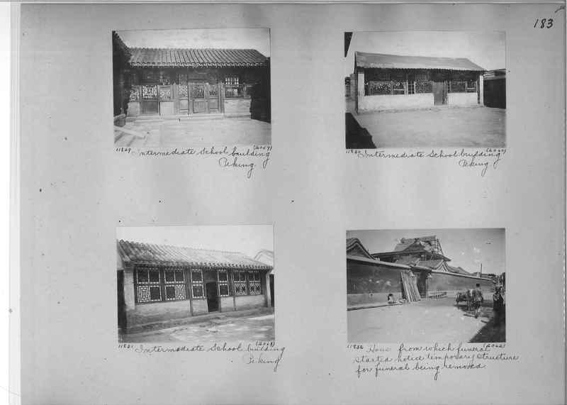 Mission Photograph Album - China #2 page  0183