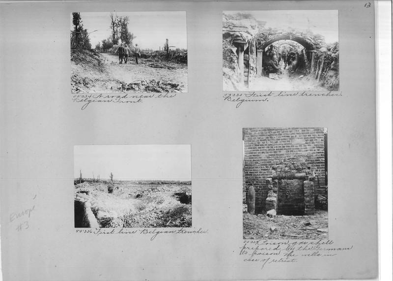 Mission Photograph Album - Europe #03 Page 0013