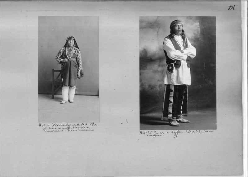 Mission Photograph Albums - Indians #1 page 0101