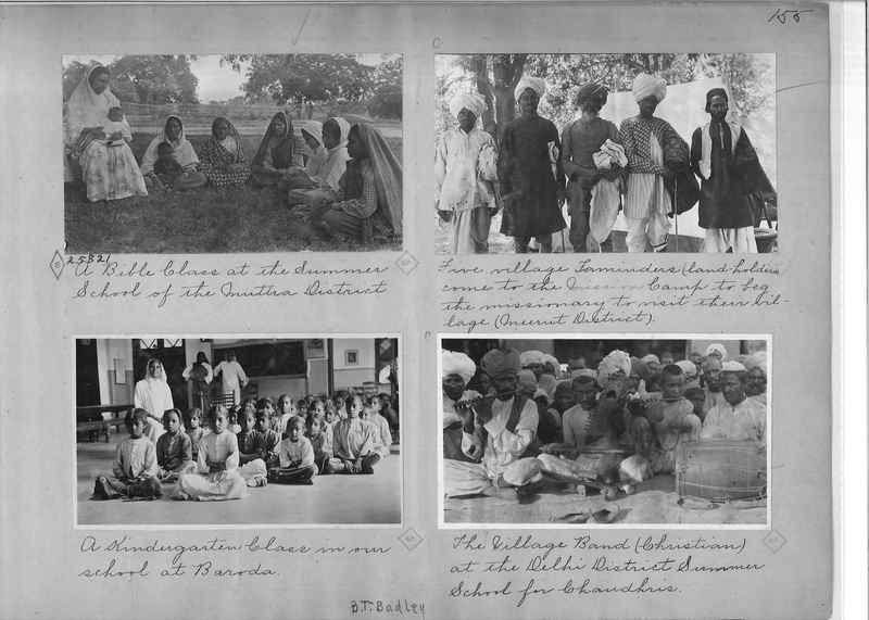 Mission Photograph Album - India - O.P. #01 Page 0155