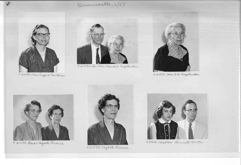 Mission Photograph Album - Portraits #10 Page 0060