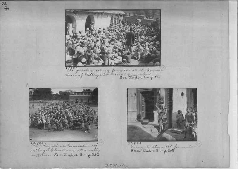 Mission Photograph Album - India - O.P. #01 Page 0072