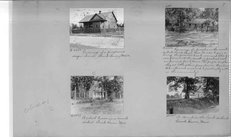 Mission Photograph Album - Negro #1 page 0007
