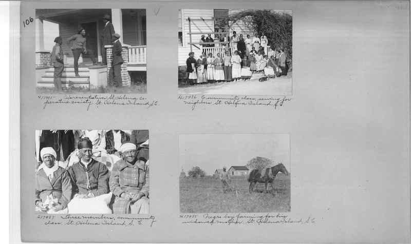 Mission Photograph Album - Negro #2 page 0106