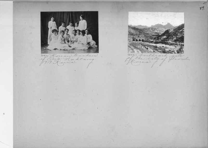 Mission Photograph Album - Korea #5 page 0089