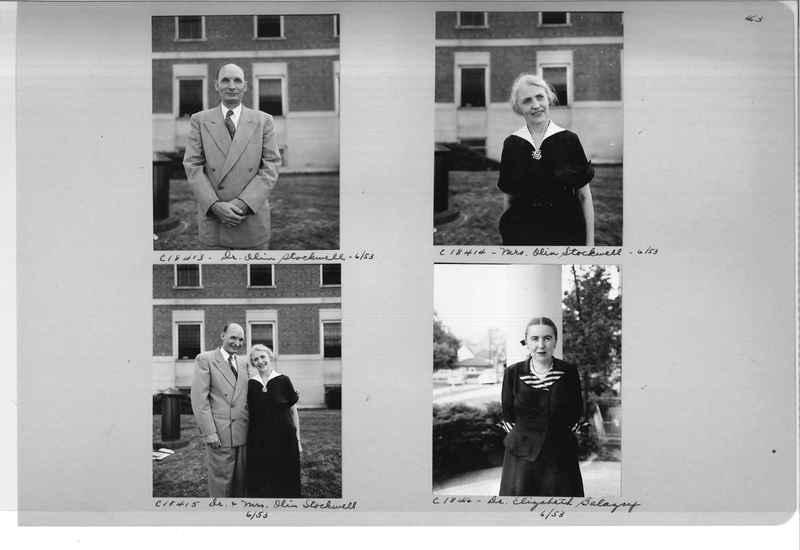 Mission Photograph Album - Portraits #08 Page 0043
