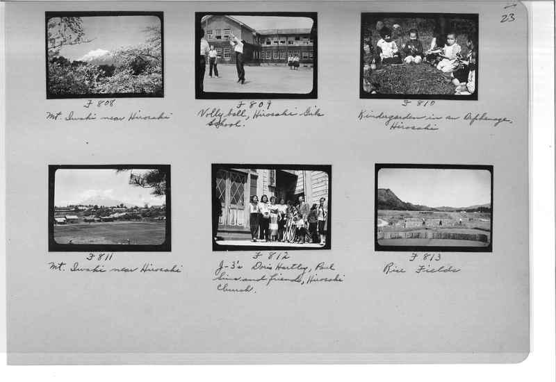 Mission Photograph Album - Japan #07 Page 0023