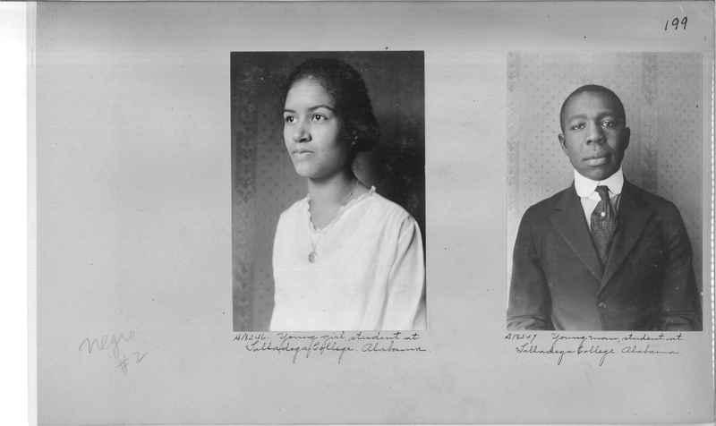 Mission Photograph Album - Negro #2 page 0199