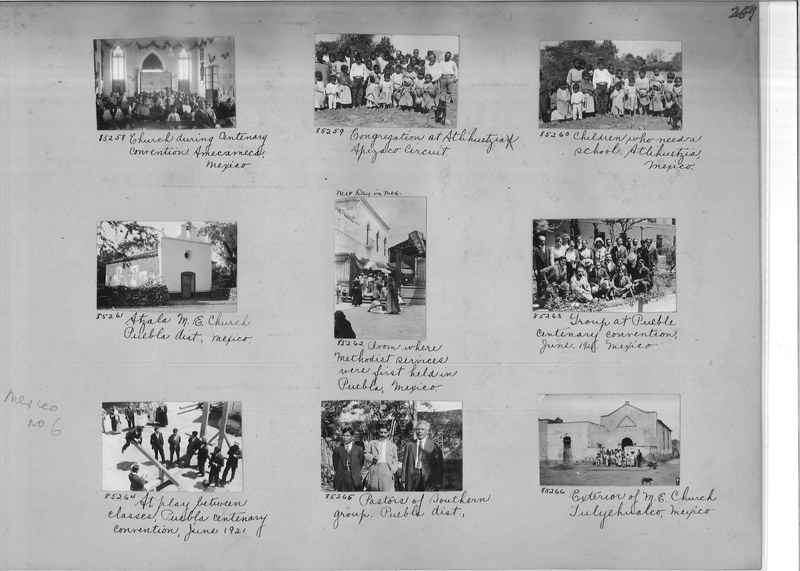 Mission Photograph Album - Mexico #06 page 0269