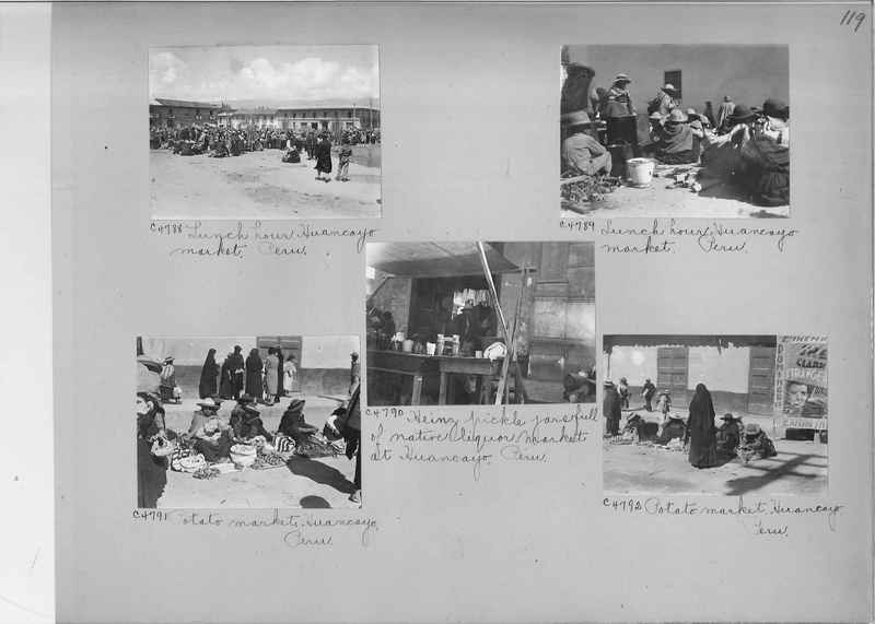 Misson Photograph Album - South America #8 page 0119