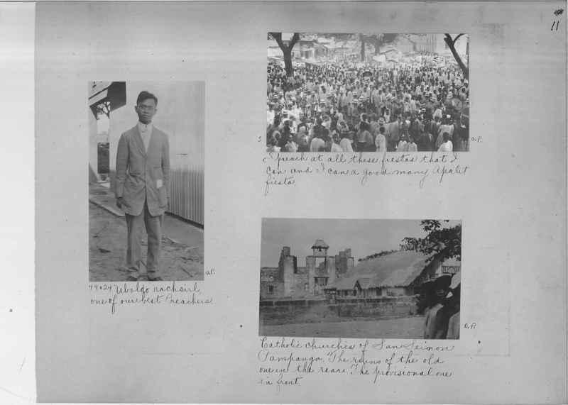 Mission Photograph Album - Philippines OP #01 page 0011