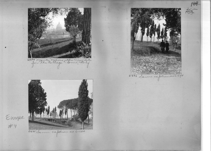 Mission Photograph Album - Europe #04 Page 0169
