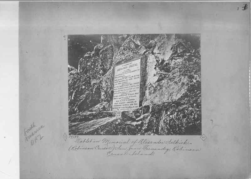 Mission Photograph Album - South America O.P. #2 page 0001