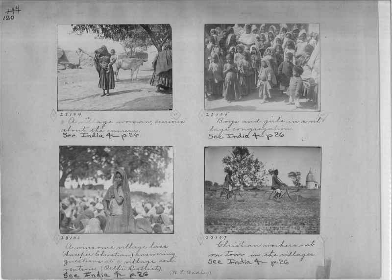 Mission Photograph Album - India - O.P. #01 Page 0120