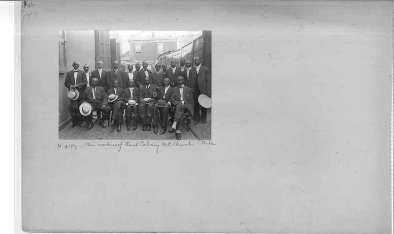 Mission Photograph Album - Negro #1 page 0044