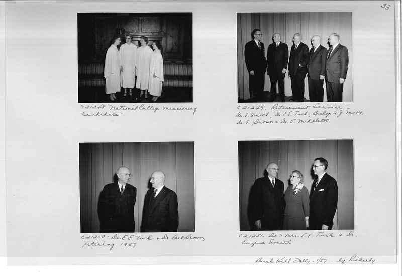 Mission Photograph Album - Portraits #10 Page 0033