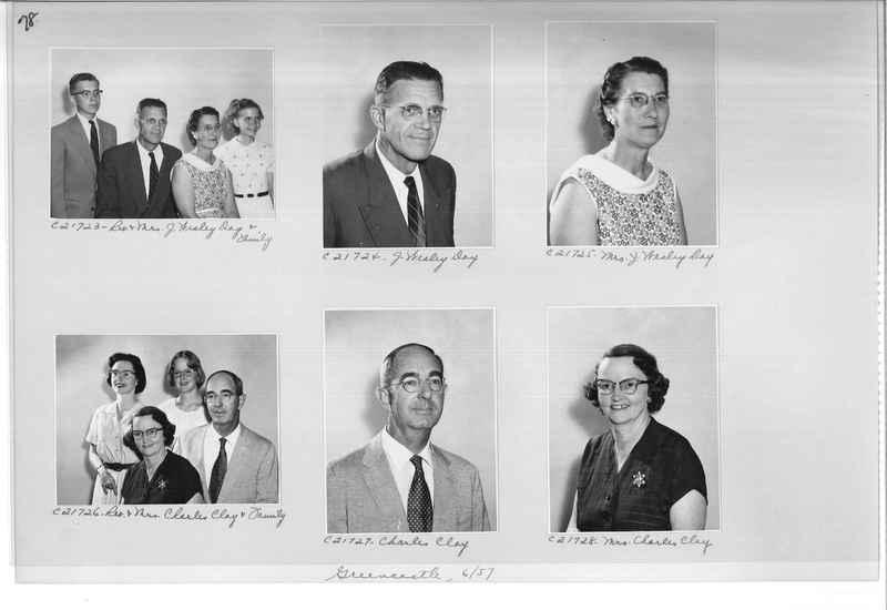 Mission Photograph Album - Portraits #10 Page 0078