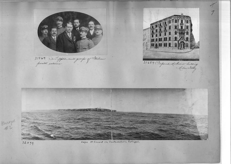 Mission Photograph Album - Europe #02 Page 0007