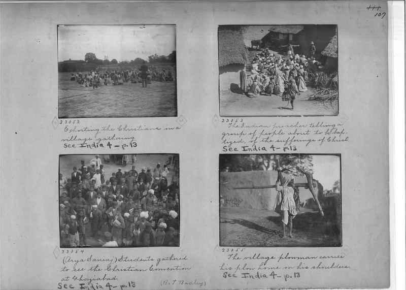 Mission Photograph Album - India - O.P. #01 Page 0107