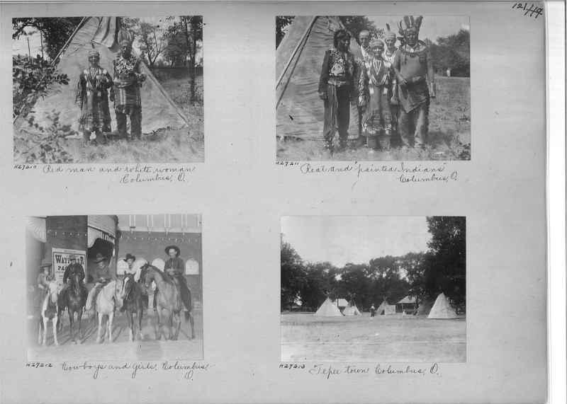Mission Photograph Album - Indians #2 page_0121