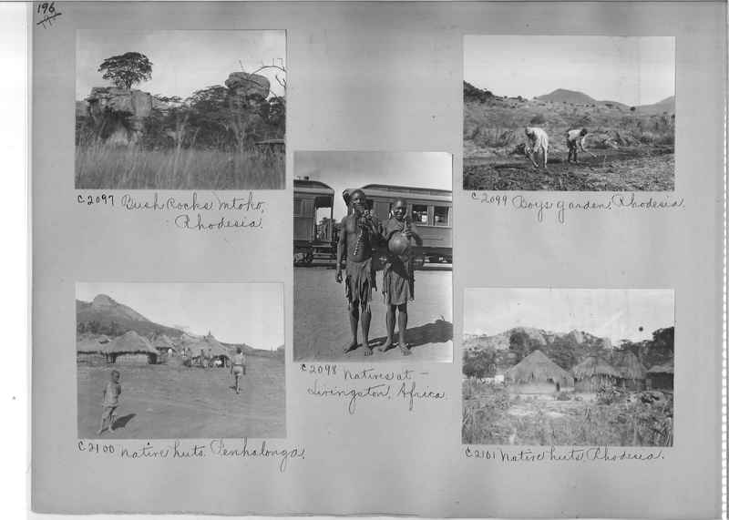 Mission Photograph Album - Africa #14 page 0196