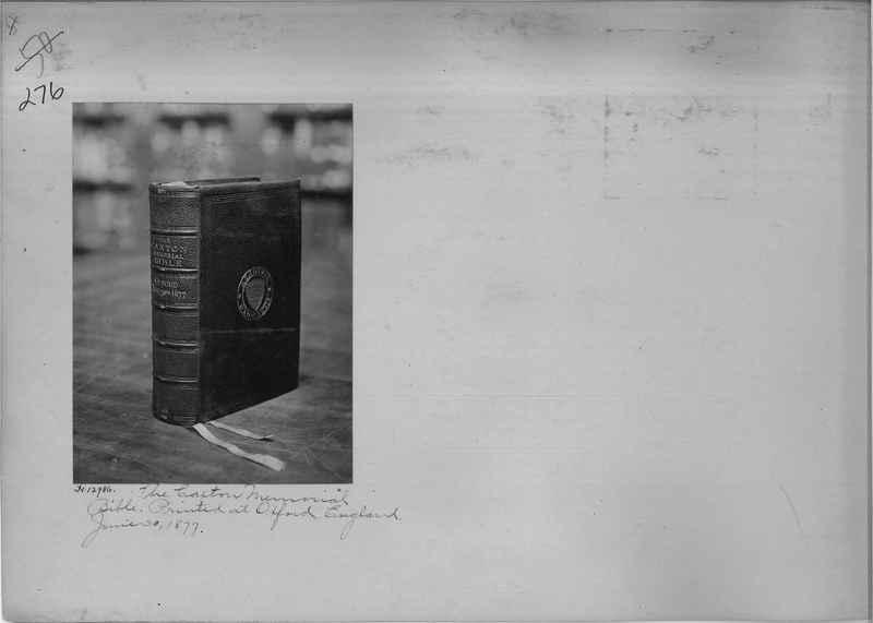 Mission Photograph Album - Miscellaneous #02 Page 0276