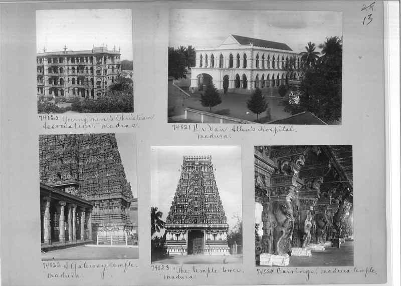 Mission Photograph Album - India #09 Page 0013