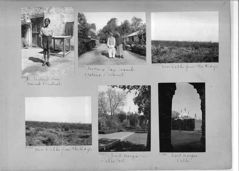 Mission Photograph Album - India #13 Page 0005