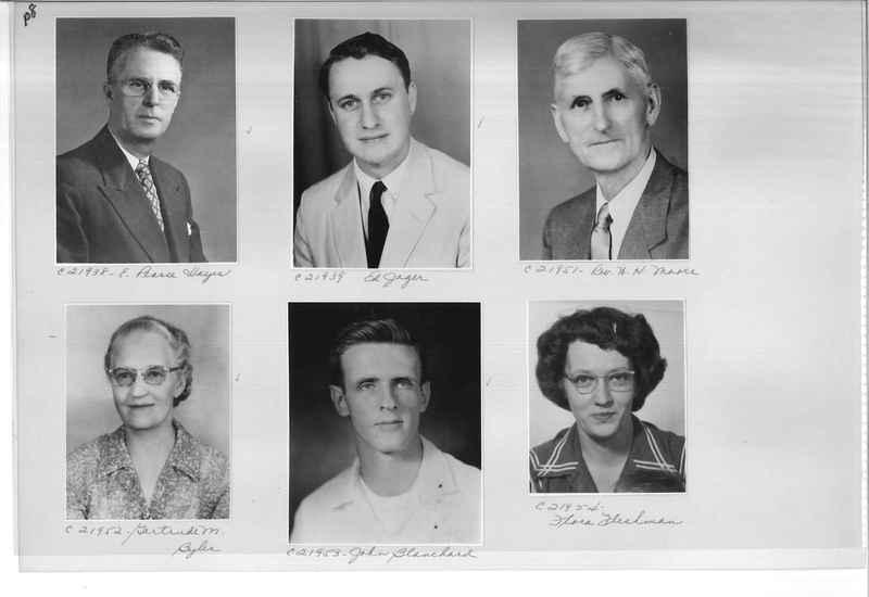Mission Photograph Album - Portraits #10 Page 0108
