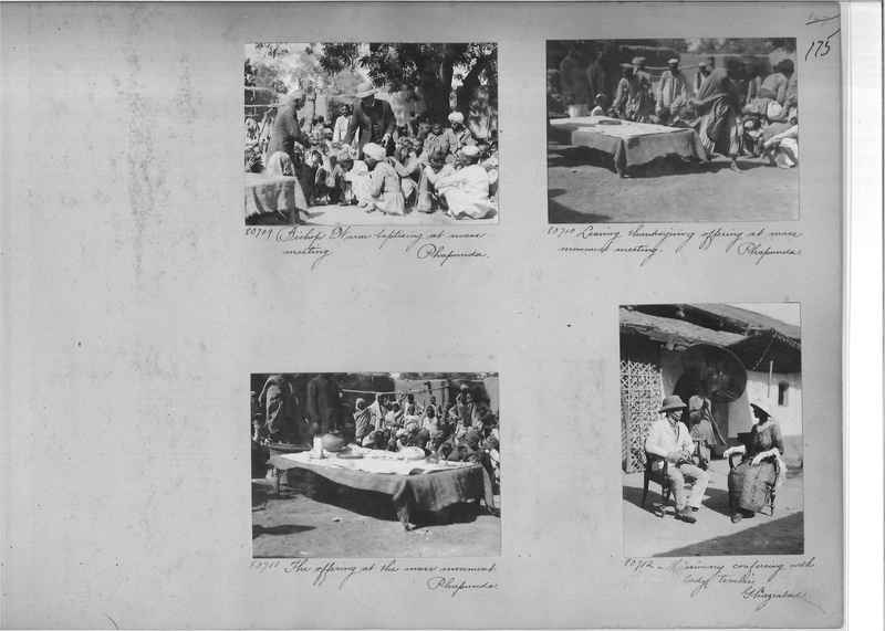 Mission Photograph Album - India #09 Page 0175